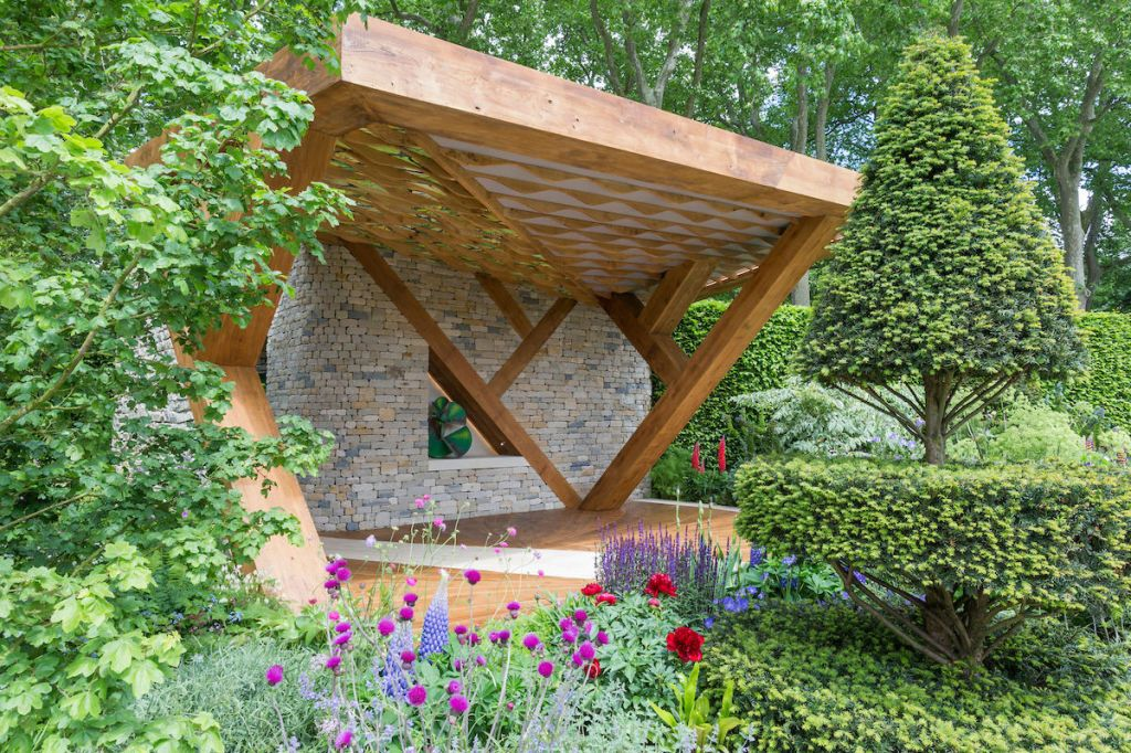 The Morgan Stanley Garden. Designed By: Chris Beardshaw. Sponsored By:  Morgan Stanley