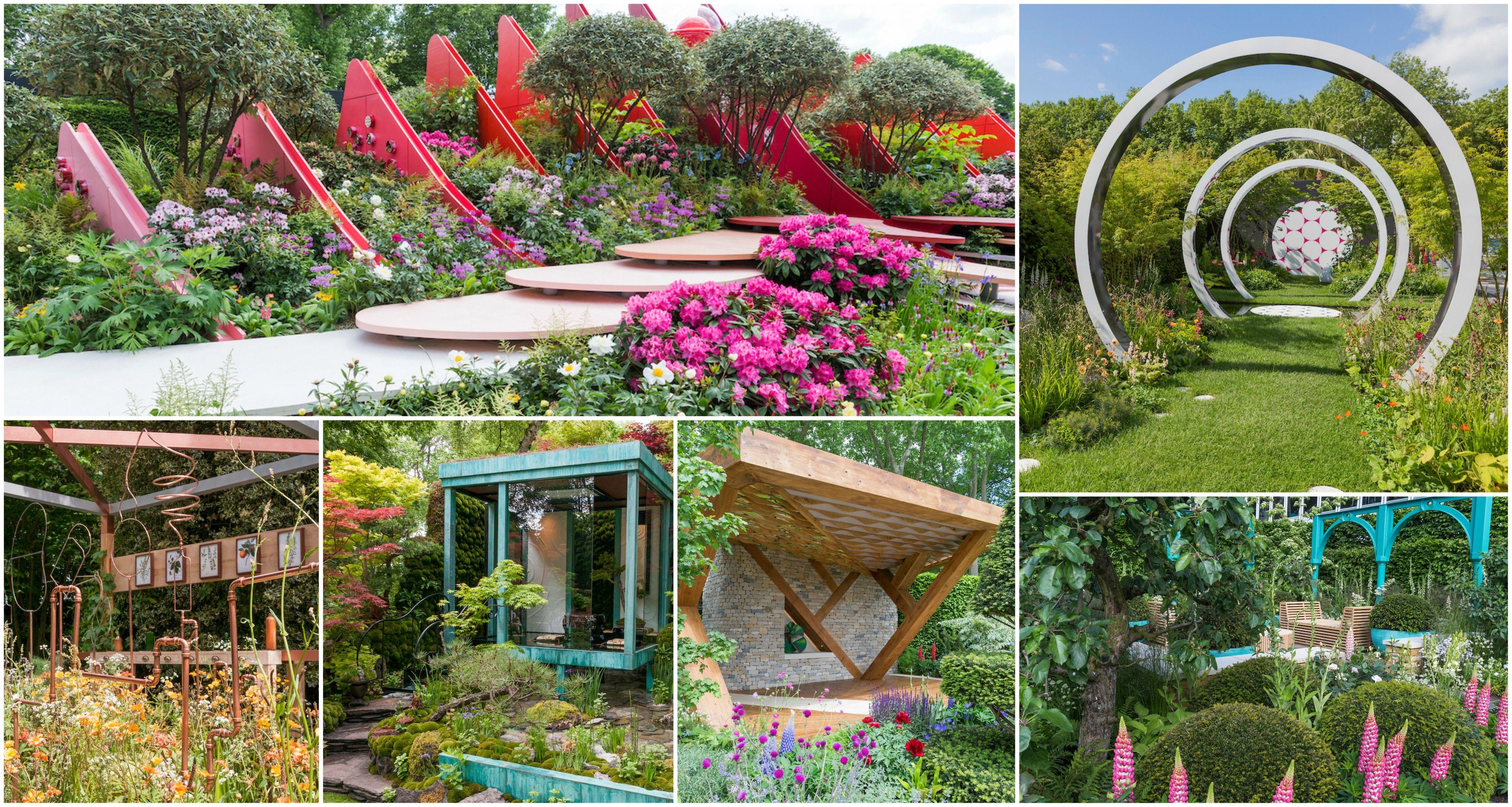 chelsea flower show 2017 medal winners: show garden, fresh garden