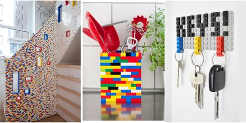 14 Clever Ways To Use Lego In The Home - Decorating Trend on