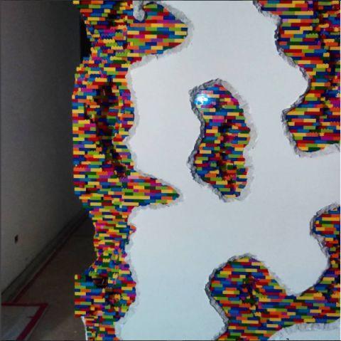 Lego artwork Dante Dentoni Art