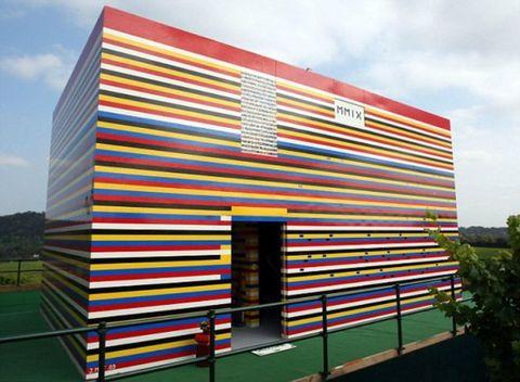 James May Lego House Press Association