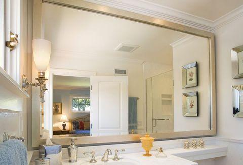 Large Bathroom Mirror