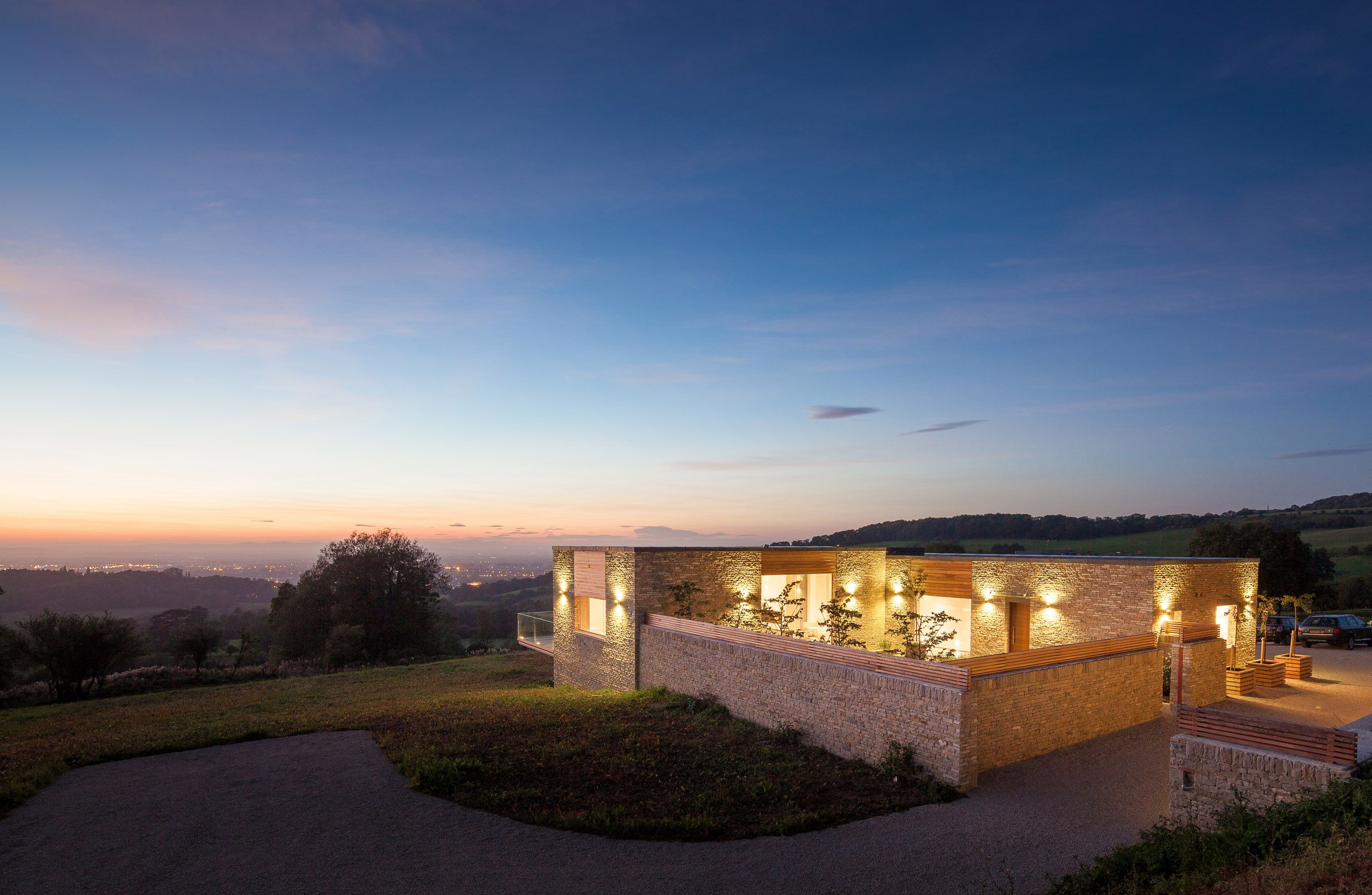 Contemporary Cotswold house on the open market for the first time ...