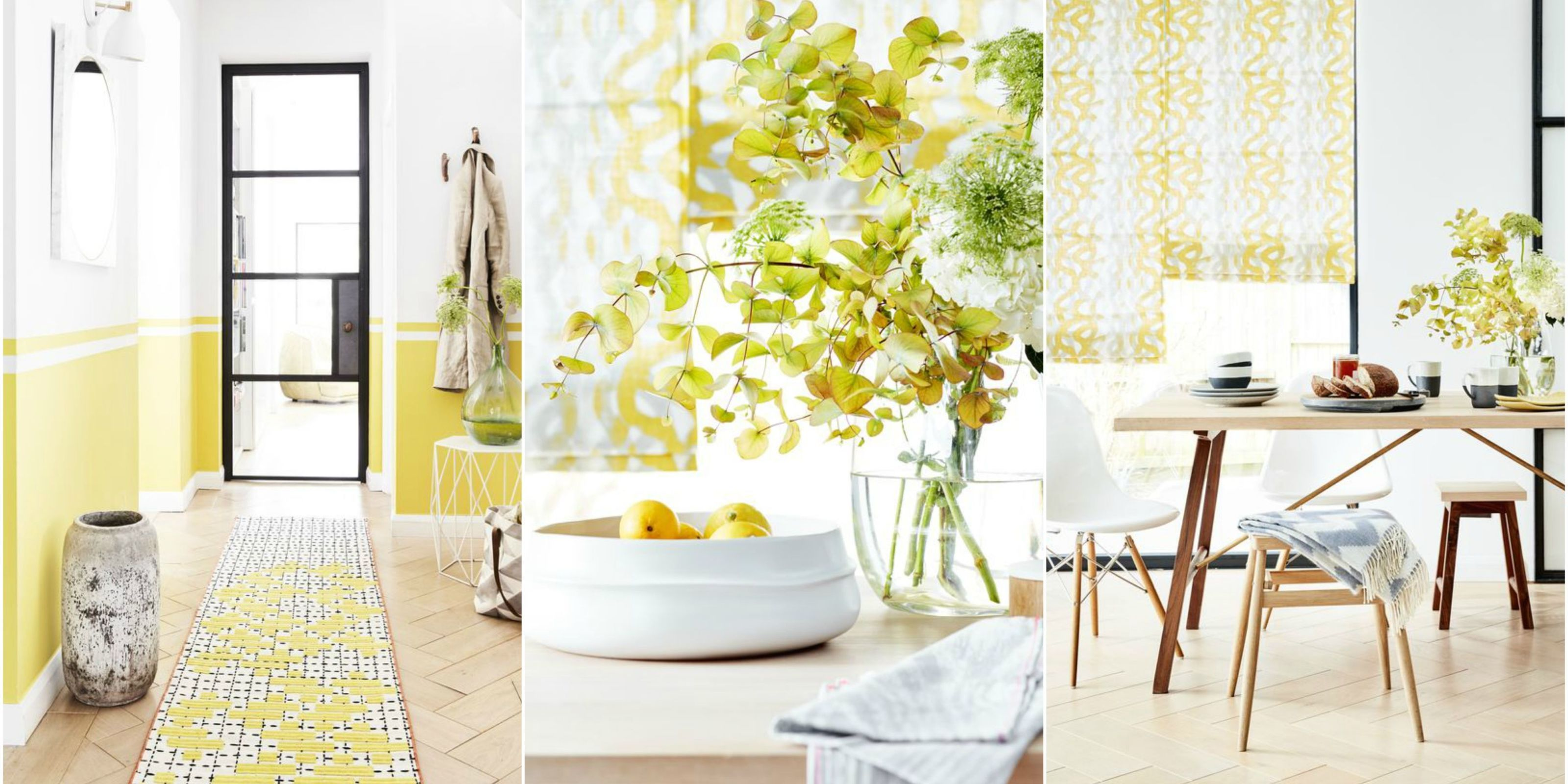 Decorating With Yellow. Styling By Lorraine Dawkins.