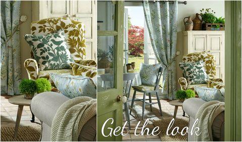 Forever Spring Eau De Nil Fabric Collection - iLiv