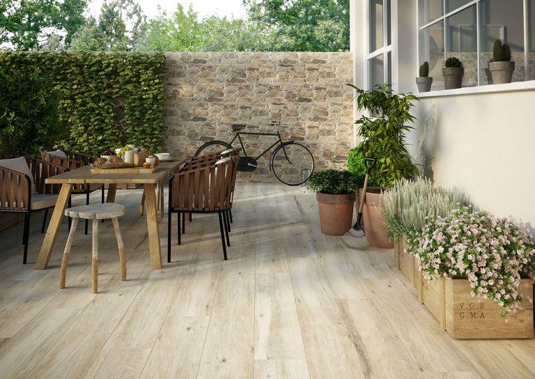 Parlor Wood Effect Tiles - Garden - Walls and Floors Ltd
