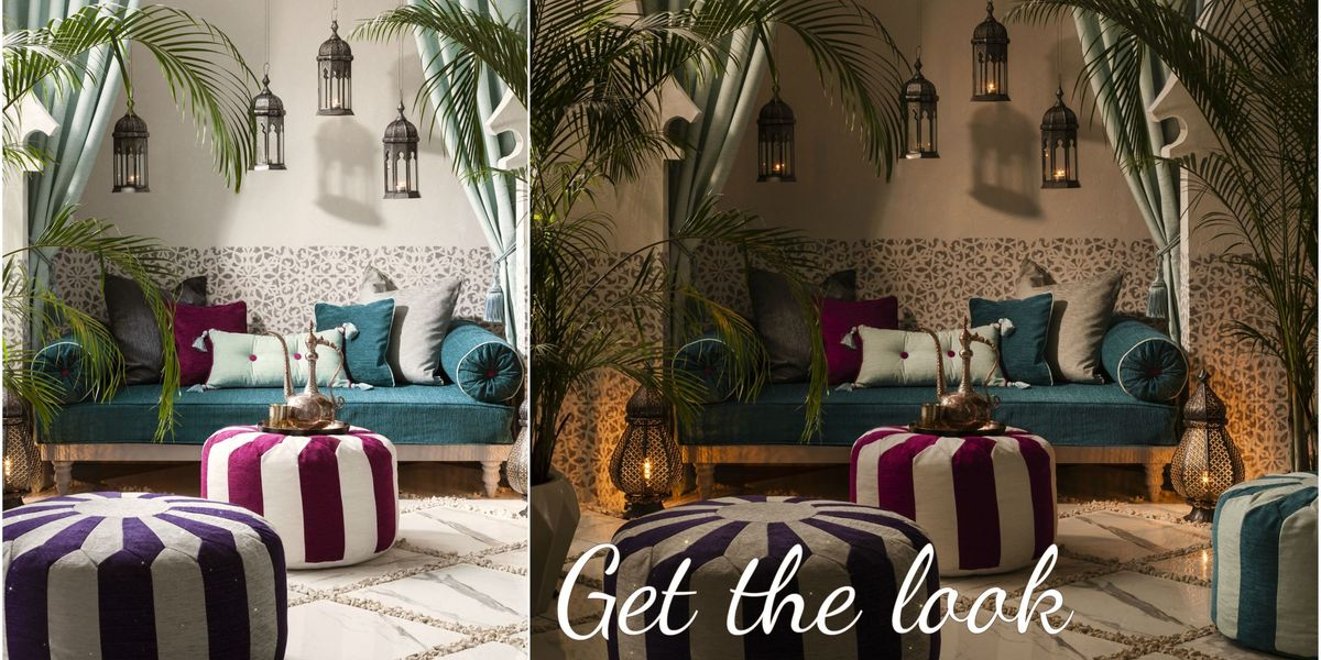 How to create a Moroccan style paradise at home and outdoors