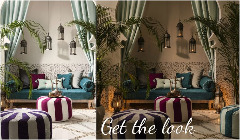 create a Moroccan style paradise at home and outdoors
