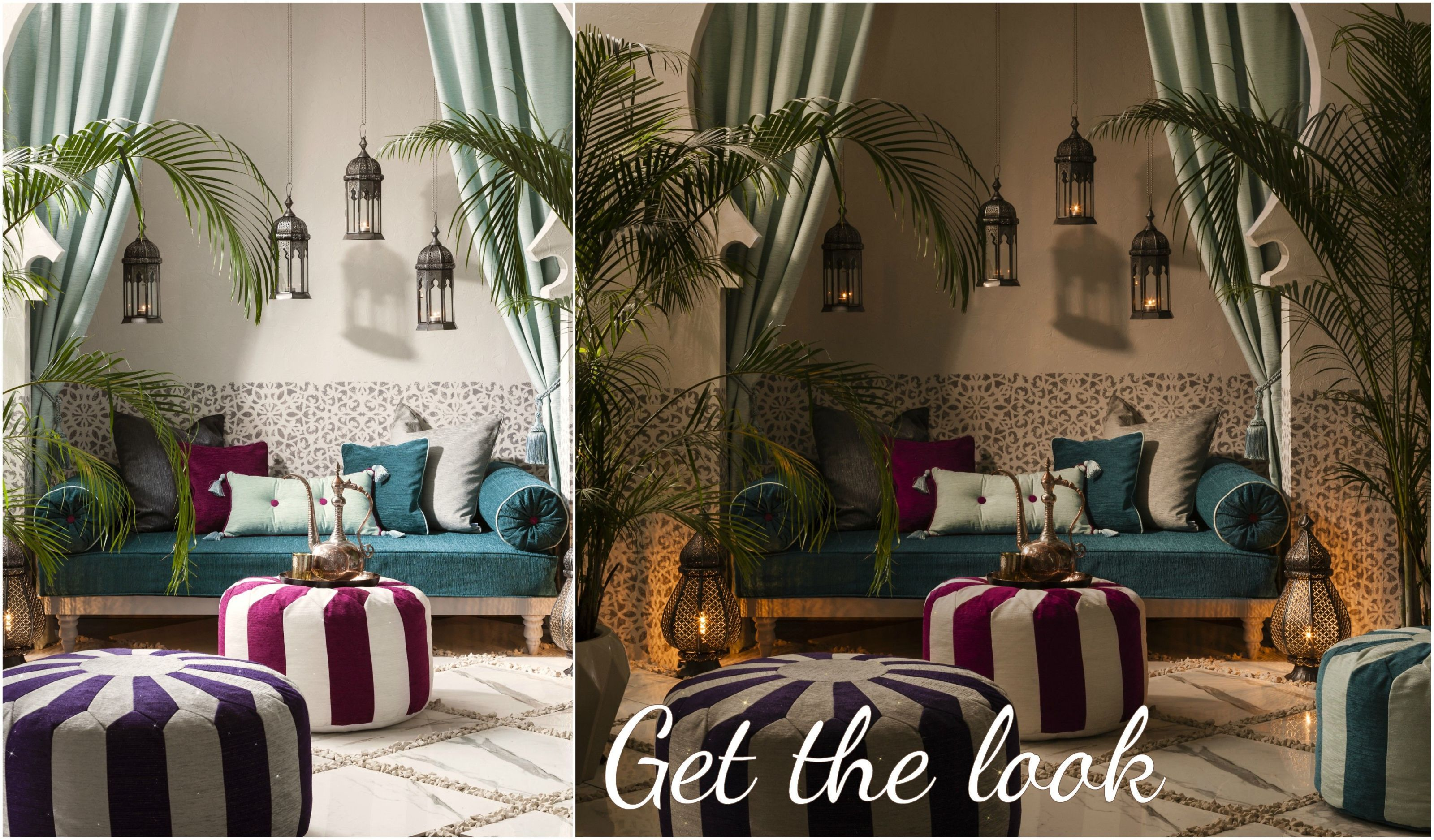Elegant Get The Look: Moroccan Oasis   Interior Design Style