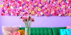 Instagram user Amina Mucciolo's rainbow house