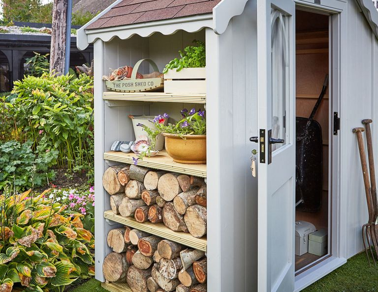 The Posh Shed Company, garden shed