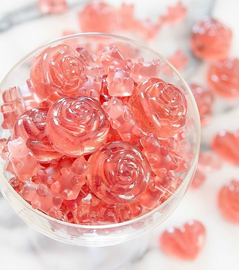 "<p><em data-redactor-tag=""em""></em>These gummy bears are almost too cute to eat! They're not only infused with rosé, but they include champagne extract as well, so you get the best of both beverages.</p><p><em data-redactor-tag=""em""><a href=""http://kirbiecravings.com/2016/08/rose-champagne-gummy-bears.html"" target=""_blank"">Via Kirbie's Cravings</a></em></p>"