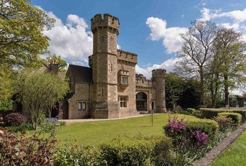 Bath Lodge Castle - Norton St Philip - Savills - exterior