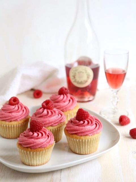 """<p>While there is rosé baked into these petite cakes, the icing is where it packs a punch. The recipe calls for a raspberry and wine reduction, making the buttercream icing super flavourful — just the way we like it.</p><p><em data-redactor-tag=""""em"""" data-verified=""""redactor""""><a href=""""http://www.completelydelicious.com/raspberry-rose-wine-cupcakes/"""" target=""""_blank"""">Via Completely Delicious</a></em></p><p><strong data-redactor-tag=""""strong"""" data-verified=""""redactor"""">MORE:</strong><span><strong data-redactor-tag=""""strong"""" data-verified=""""redactor""""><a href=""""http://www.housebeautiful.co.uk/garden/seasons/tips/a1559/tips-entertaining-alfresco-summer-dining/"""" data-tracking-id=""""recirc-text-link""""><em data-redactor-tag=""""em"""" data-verified=""""redactor"""">5 alfresco entertaining trends you need to know about this summer</em></a></strong></span></p>"""