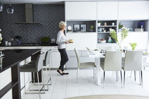 Judy Murray House Beautiful makeover. Styling by Lucy Birch. Photography by Dan Duchars