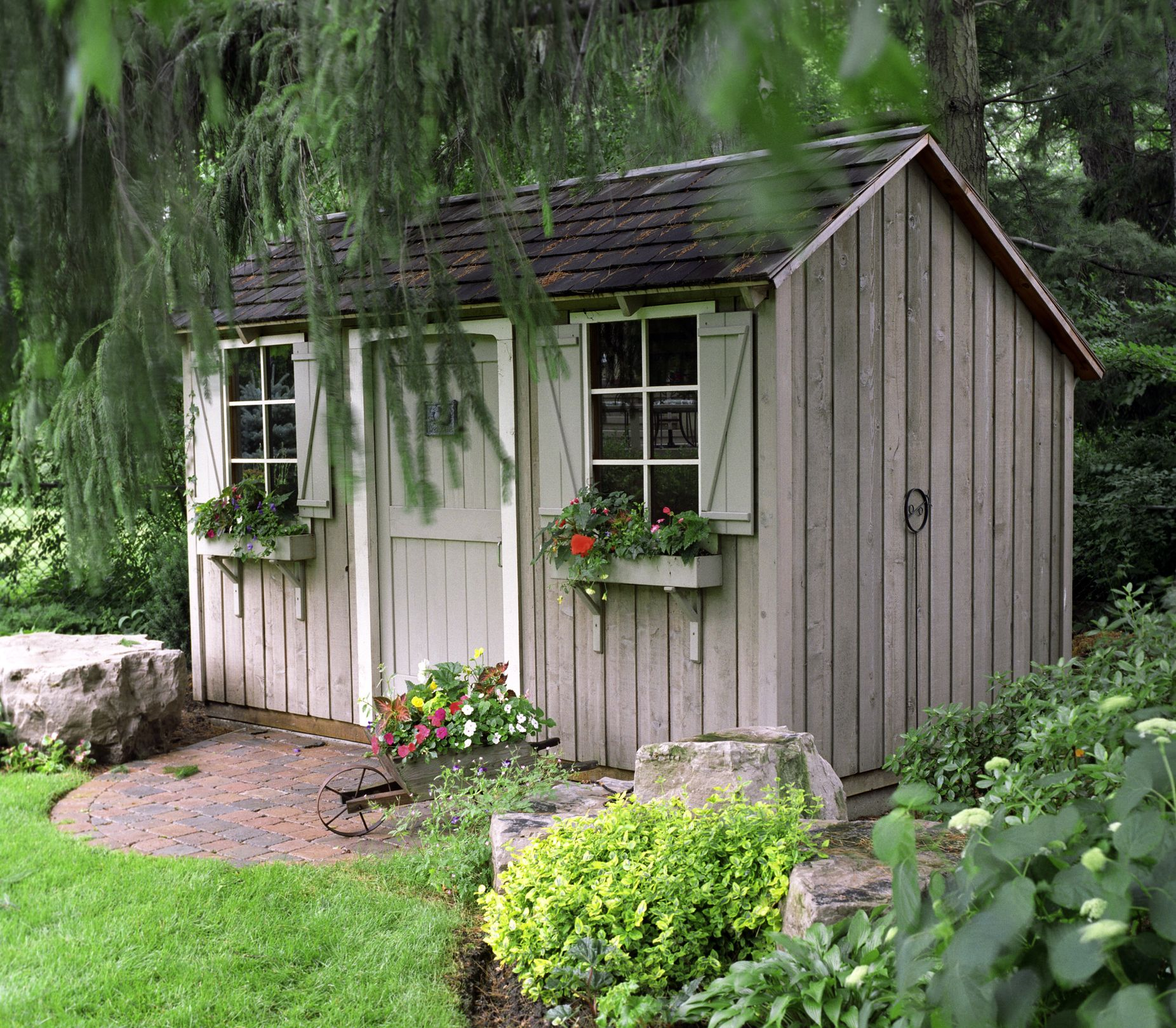 6 steps to transforming your old garden shed