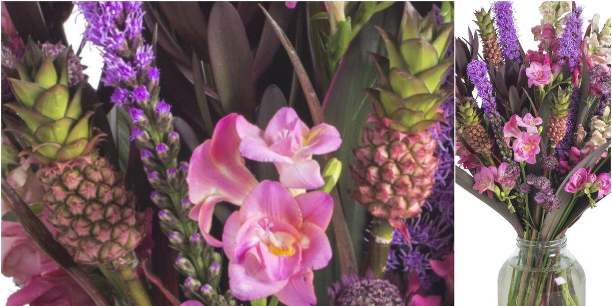 Pineapple flowers, anyone?