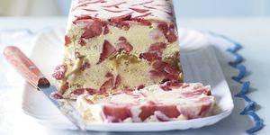 Strawberry shortcake ice cream, Waitrose recipe