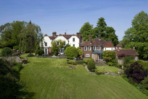 17th century Kent country house up for sale with stable yard and ...
