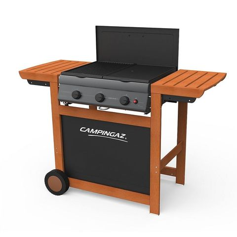 Campingaz 3 Series Adelaide Woody Flatbed 3 Burner Barbecue - Amazon Prime Day