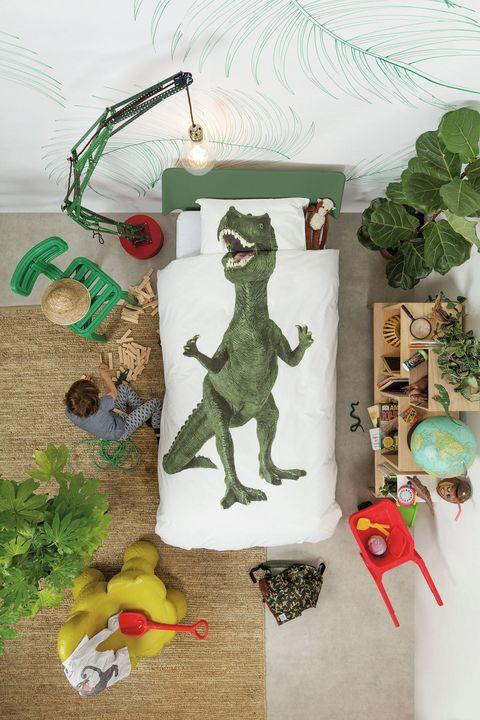 Snurk Children S Dinosaur Duvet Set