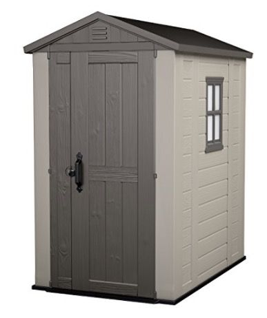 """<p><strong data-redactor-tag=""""strong"""" data-verified=""""redactor"""">What:</strong>&nbsp;<span>Keter Factor Outdoor Plastic Garden Storage Shed, 4 x 6 feet - Beige</span></p><p><strong data-redactor-tag=""""strong"""" data-verified=""""redactor"""">Original price: </strong>£293</p><p><strong data-redactor-tag=""""strong"""" data-verified=""""redactor"""">Amazon Prime Day price: </strong>£199.99 (32% off)</p><p><strong data-redactor-tag=""""strong"""" data-verified=""""redactor""""><a href=""""https://www.amazon.co.uk/dp/B00AFSTZA8"""" target=""""_blank"""" data-tracking-id=""""recirc-text-link"""">BUY HERE</a></strong><span><a href=""""https://www.amazon.co.uk/dp/B00AFSTZA8""""></a></span></p>"""