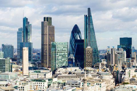 London skyline, daytime