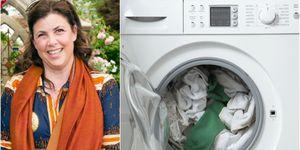 Kirstie Alsopp / washing machine