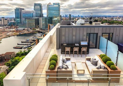 Two Bedroom Canary Wharf Penthouse For Sale Property On