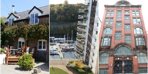 Average rent UK properties - Zoopla