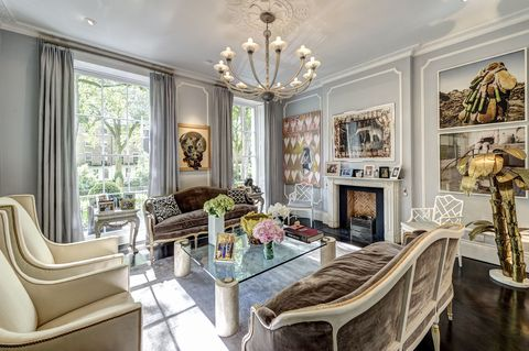 6 Connaught Square - the stunning reception room