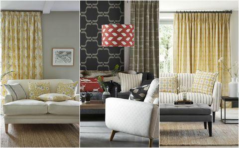Patterned Living Room Schemes By Vanessa Arbuthnott