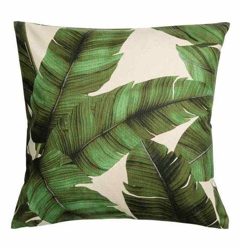 Print motif cushion cover, H&M
