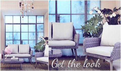 Outdoor garden rattan furniture indoors - get the look - How To Use Your Outdoor Garden Furniture Indoors