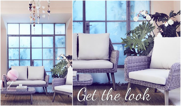 How to use your outdoor garden furniture indoors outdoor garden rattan furniture indoors get the look workwithnaturefo