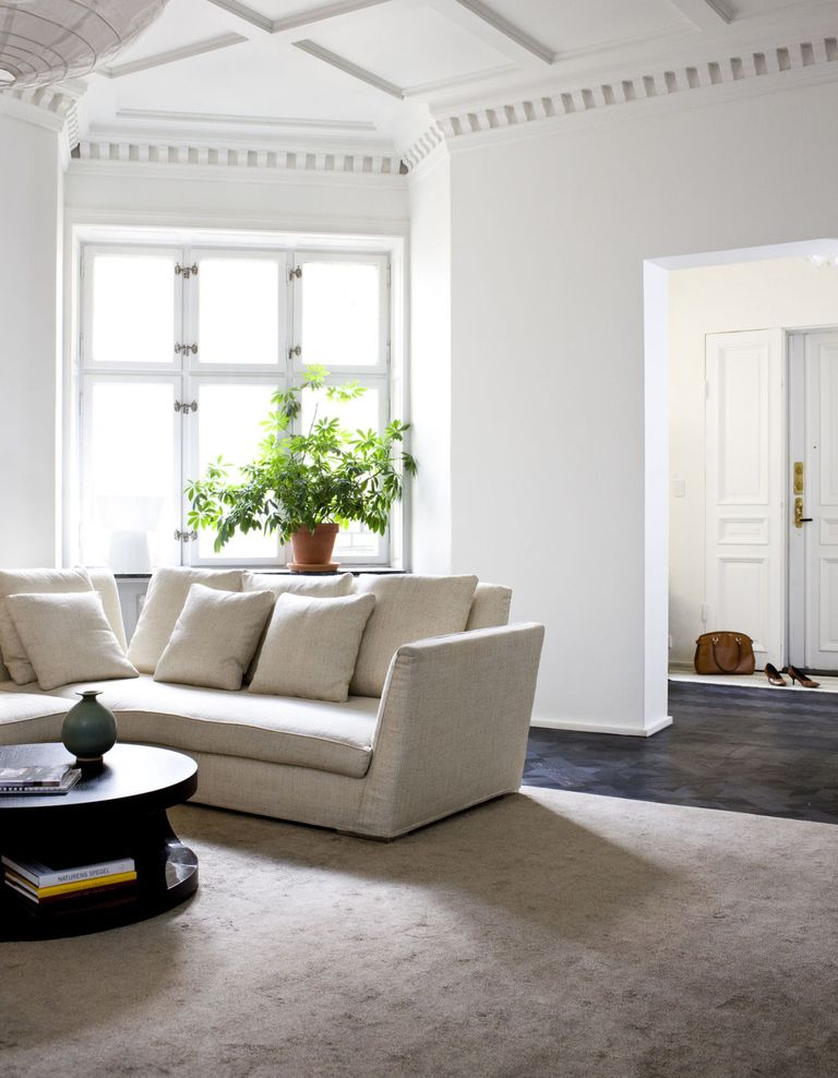 The Best White Shade To Decorate Living Room - Colour Room Ideas