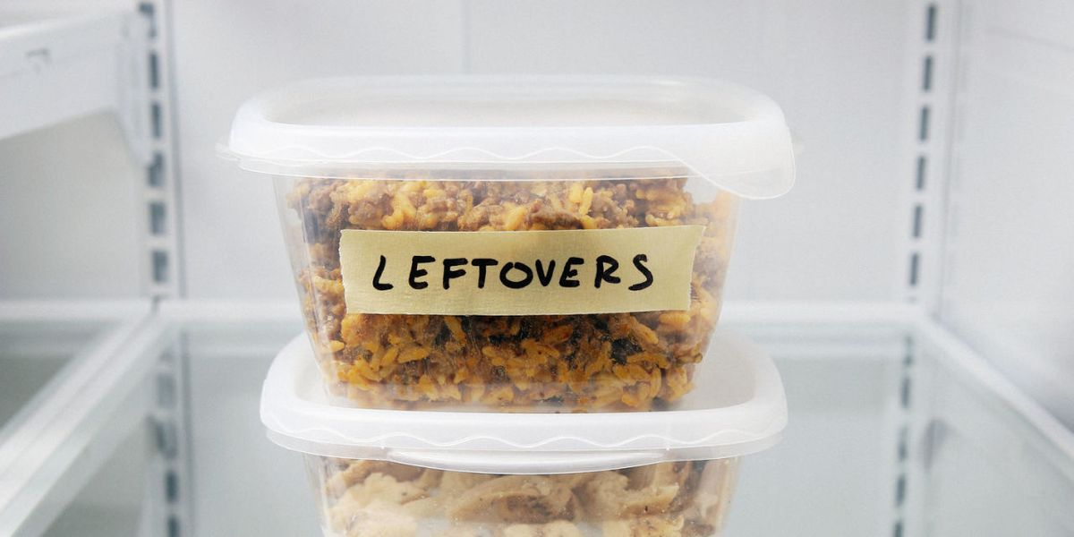 This is how you should actually be storing your leftovers