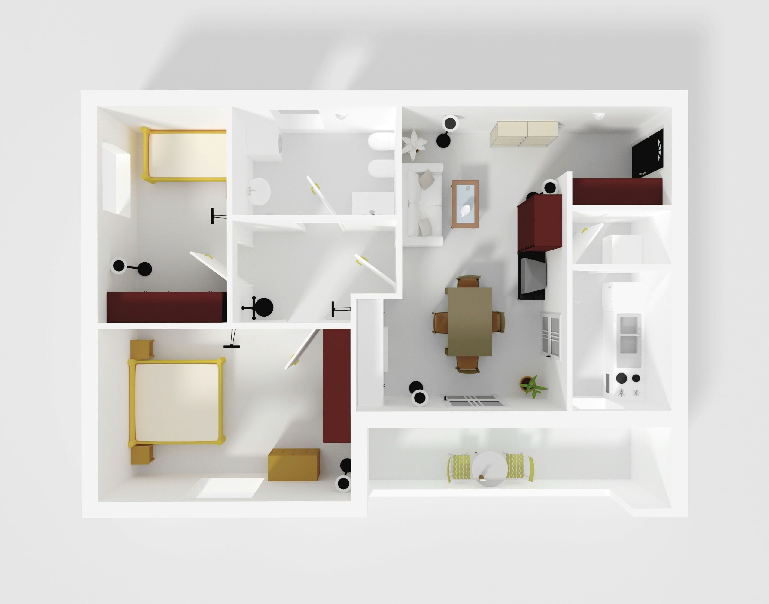 Architectural Model Of Home