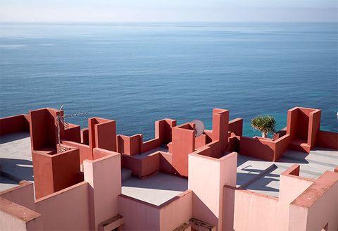 Architecture, Roof, Sky, Sea, Horizon, Vacation, House, City,