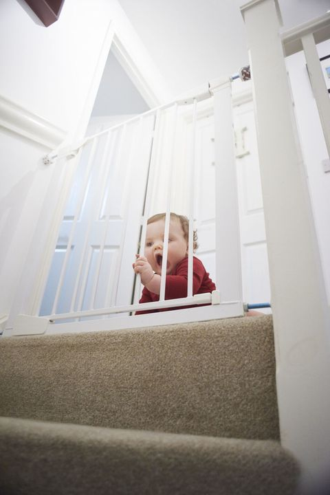 Child Proofing Ideas For Awkward Staircases Best Stair Gates And