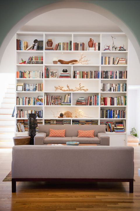 Bookshelves Images 7 ways to style your bookshelf the shelfie light filled living room with tall bookshelves sisterspd