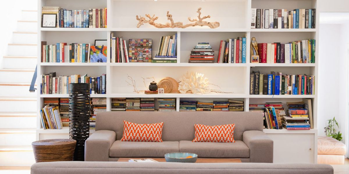 48 Ways To Style Your Bookshelf The Shelfie Beauteous Bookshelves Living Room