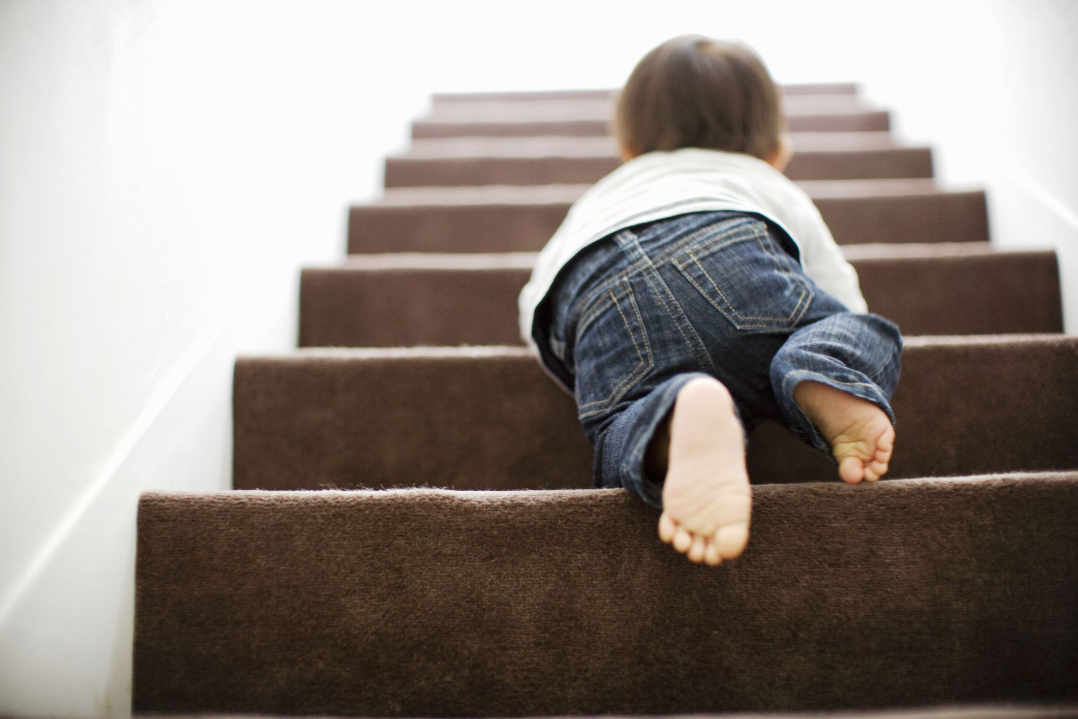 0ef4c0069b87 Child Proofing Ideas For Awkward Staircases - Best Stair Gates And Floor  Maintenance