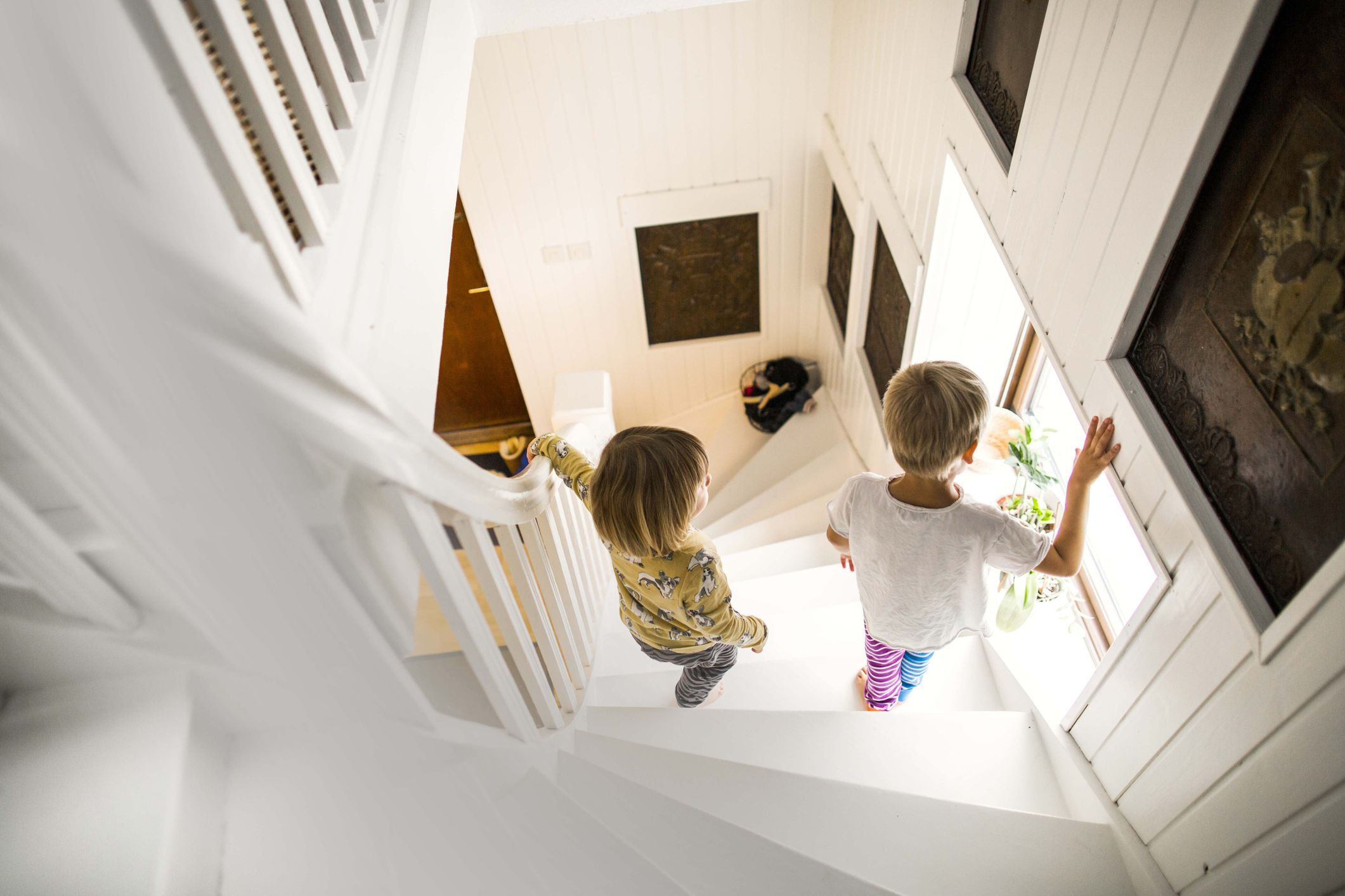 Child Proofing Ideas For Awkward Staircases Best Stair Gates And Floor Maintenance