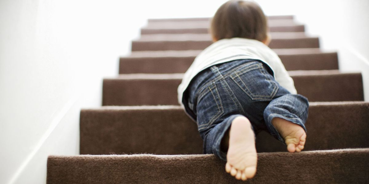 How to child-proof your staircase