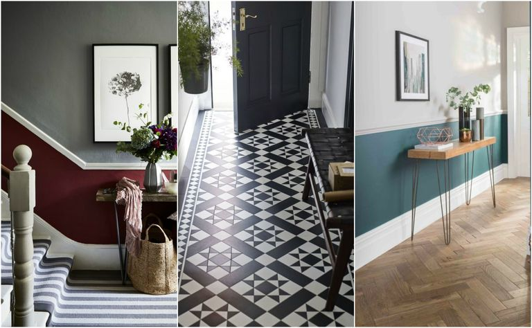 Victorian Terrace Hallway Decorating Ideas