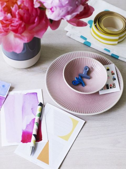 Dots, dashes and geometrics in pastels. Styling by Kiera Buckley-Jones