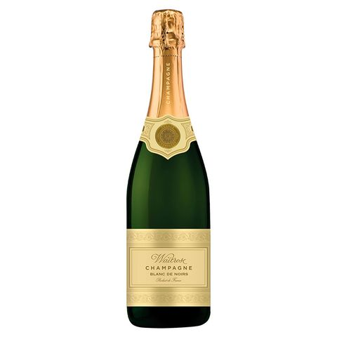 """<p>Waitrose's&nbsp;<a href=""""http://www.waitrose.com/shop/ProductView-10317--42538-Waitrose+Blanc+de+Noirs+Champagne%22%20%5Ct%20%22_blank"""">Blanc de Noirs Brut NV Champagne</a>&nbsp;was awarded a gold at the International Wine Challenge (IWC) 2017 and a bronze at the Decanter awards.&nbsp;</p><p>The tasters at the IWC noted that the fizz was toasty with a 'nice floral lift' and had citrus and red apple flavours.</p><p><strong data-redactor-tag=""""strong"""" data-verified=""""redactor""""><strong data-redactor-tag=""""strong"""">Buy now:&nbsp;</strong><span class=""""redactor-invisible-space"""" data-verified=""""redactor"""" data-redactor-tag=""""span"""" data-redactor-class=""""redactor-invisible-space""""></span><a href=""""http://www.waitrose.com/shop/ProductView-10317--42538-Waitrose+Blanc+de+Noirs+Champagne%22%20%5Ct%20%22_blank"""">Waitrose Blanc de Noirs Brut NV Champagne, £21.99</a></strong></p>"""