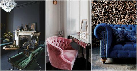 Pinterest - suede furniture