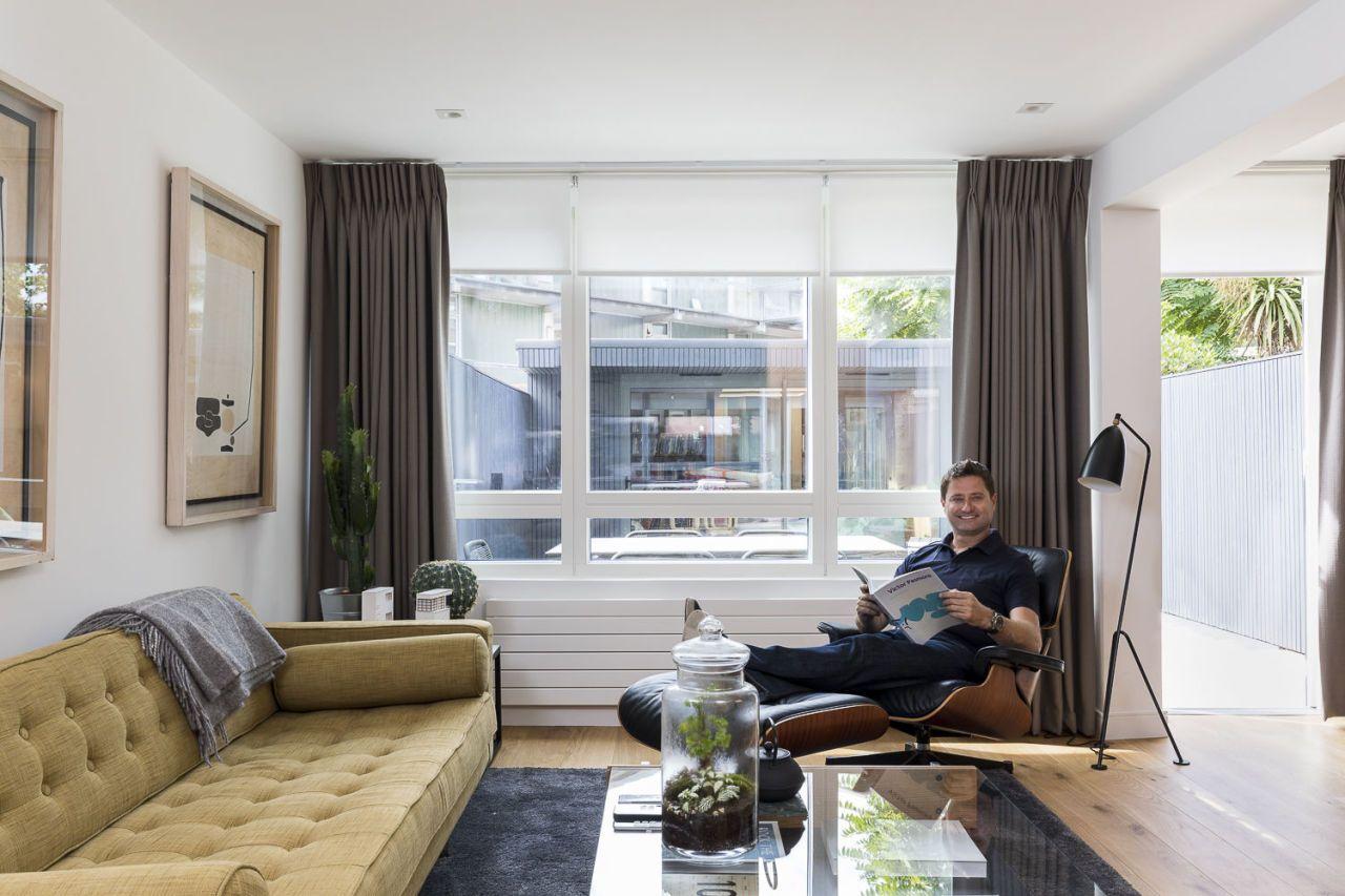 George Clarke and Hillarys - window treatments  sc 1 st  House Beautiful & George Clarke\u0027s Top Tips on Window Dressing - Crtittall And Bay ...